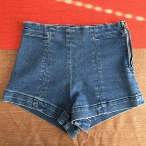 Forever 21 Denim Blue Jean Shorts